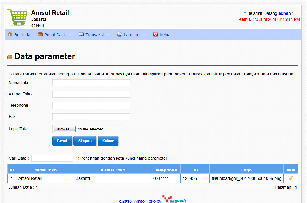 4. halaman data parameter amsol retail.jpg