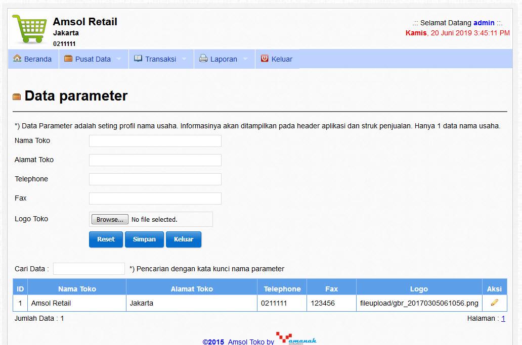 Manajemen Retail Kos